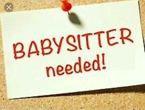 Looking for occasional babysitter.