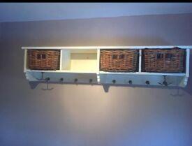 Coat Rack and Bench Set.
