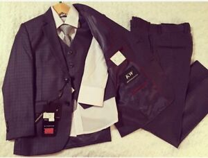 Kids World of USA 5-Piece Suit • Size 8 boy's