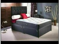 ⭐🆕HUGE SALE LUXURY DIVAN BED BASES in SINGLE, DOUBLE, KINGSIZE with ORTHOPAEDIC MATTRESS OPT