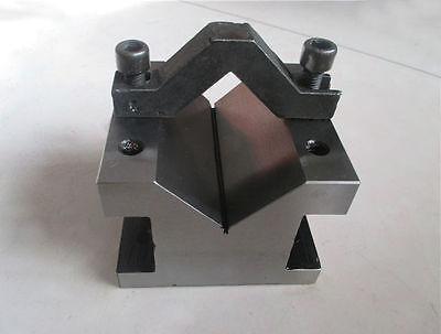 Precision V Blocks Clamp Tool Gauge V-blocks Set Workholding 606050mm Eg