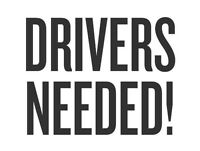 Delivery Drivers Needed!
