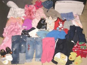 Lot of 0-6 months Baby Clothes in great condition 30+ items