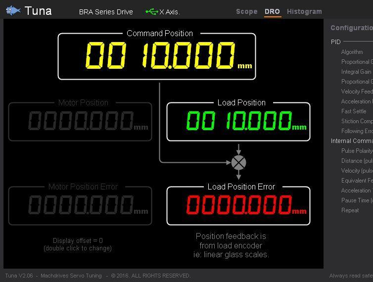 Servo Drive w// Glass Scales Feedback 20-150V 20A CNC Holy Grail? Machdrives