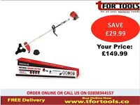 Proplus Petrol Strimmer 43cc 2 Stroke Brush Cutter & Accessories PPS760034