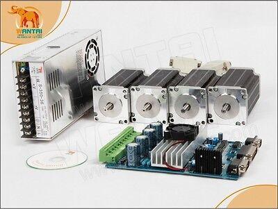 Euusa Free Wantai 4axis Stepper Motor Nema23 270oz-in 4-lead Cnc Desktop