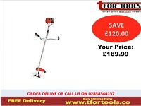 Proplus Petrol Strimmer 43cc 2 Stroke Brush Cutter & Accessories