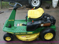 John Deere  9 Hp Riding Lawnmower