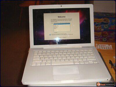 """13.3"""" Mid-2007 Apple MacBook A1181 MB061LL/A, 1GB RAM, 160GB Hard Drive, OSX10.6"""