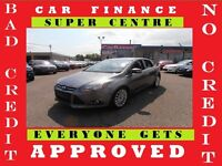 2012 FORD FOCUS TITANIUM★LEATHER★ROOF★4 CYLINDER★EASY FINANCING