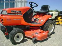 2001 Kubota TG1860G Garden Tractor