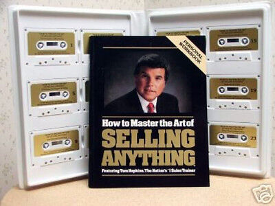 Tom Hopkins - How To Master The Art of Selling Anything - 12 Audio Tapes - $195