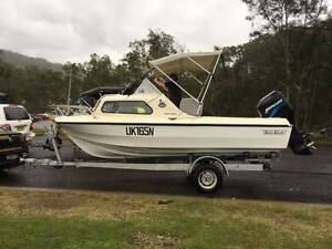 Swift Craft Seagull 16ft Half Cabin, Restored Boat and Trailer Quakers Hill Blacktown Area Preview
