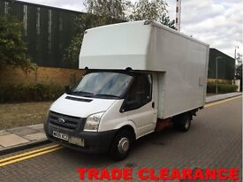 FORD TRANSIT 2.4TDCi Duratorq (115PS) 350 Luton Box Van with Tail Lift 24