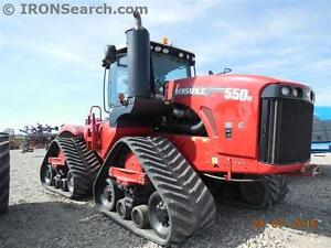 2016 VERSATILE 550DT-36 DELTA TRACKED TRACTOR 110GPM, PTO, 590HP
