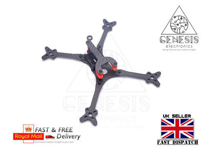 FLOSS 210mm 5 inch Racing Carbon Fiber Quad-copter Drone Frame