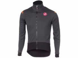 CASTELLI Alpha ROS Pro Cycle Jacket - Med - BNWT's RRP £210 - Magnificent Deal! Do NOT Miss!