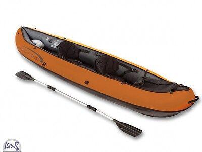 Kajak Set Ventura Kanu Hydro-Force Bestway Schlauchboot Seekajak