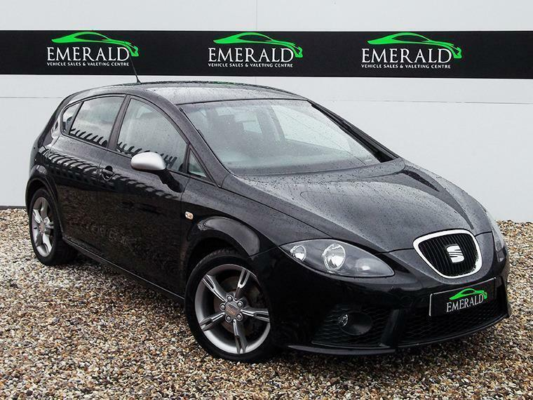 seat leon fr tdi 2007 diesel manual in black in wednesbury west midlands gumtree. Black Bedroom Furniture Sets. Home Design Ideas