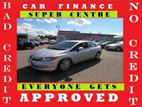 2012 HONDA CIVIC LX★LOADED★PWR EVERYTHING★EASY CAR FINANCE