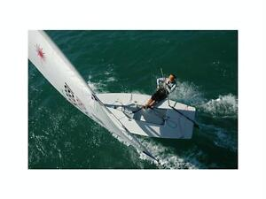 2011 Laser Performance Sailboat and Trailer