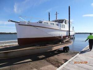 ex royal navy boat Heatherbrae Port Stephens Area Preview