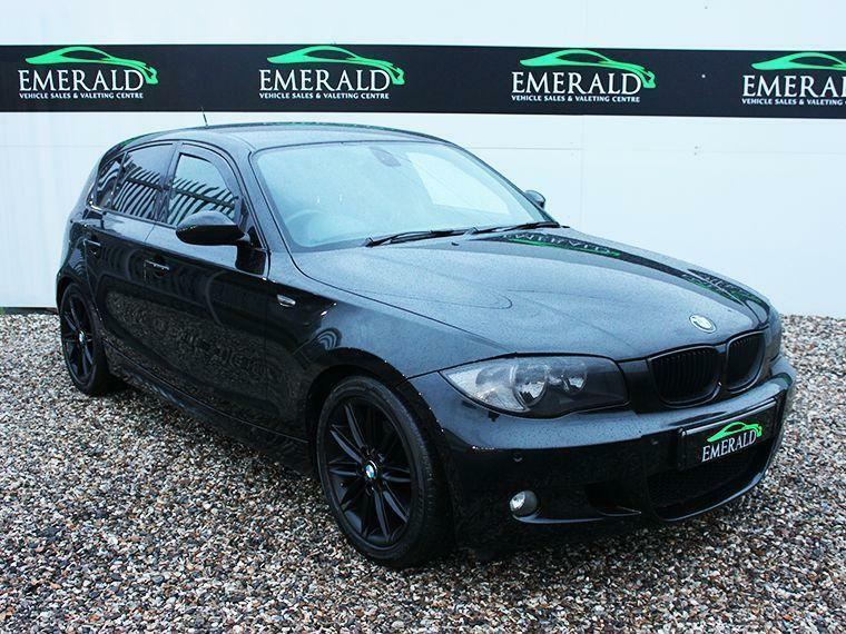 bmw 1 series 118d m sport 2008 diesel manual in black in wednesbury west midlands gumtree. Black Bedroom Furniture Sets. Home Design Ideas