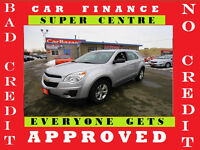 2012 CHEVROLET EQUINOX LS★4 CYL★AUTO★ALLOY★LOADED★EASY FINANCING