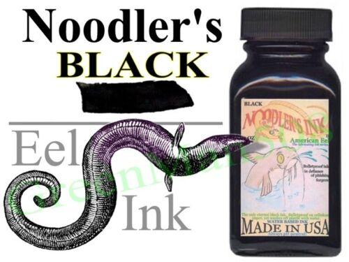 Noodler's Eel Black Ink Archival Bullet Proof Lubricating 3 oz   #19207