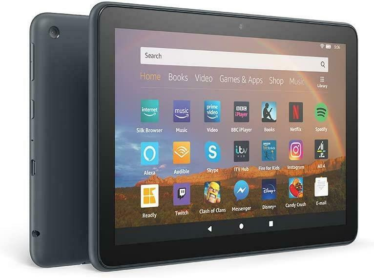 NEW+SEALED+AMAZON+FIRE+HD+8+PLUS+2020+EDITION+10th+GEN%2C+32GB+TABLET+-+SLATE