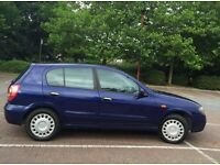NISSAN ALMERA, NEW MOT, 1497CC,5DOOR
