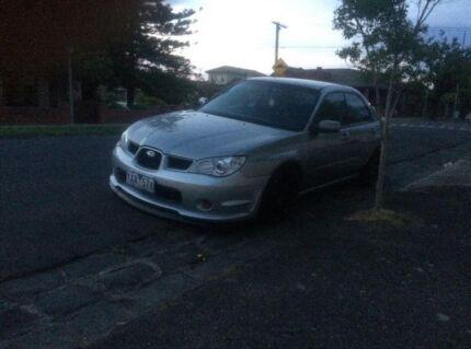 2007 Subaru Impreza Sedan p plate legal Melbourne CBD Melbourne City Preview