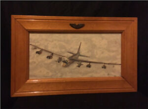 Signed Painting of B-52 Stratofortress
