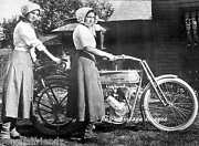 Antique Harley Davidson Motorcycles