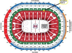 BILLETS CANADIENS HOCKEY DESJARDINS BUFFALO SABRES 8 NOVEMBRE