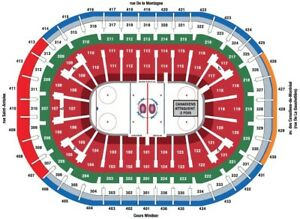 Billets canadiens Maple leafs 6 avril