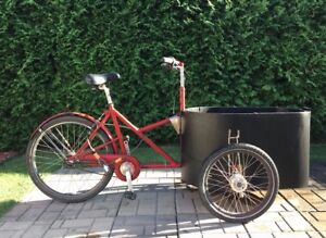 NIHOLA - velo cargo bike tricycle poussette bicycle