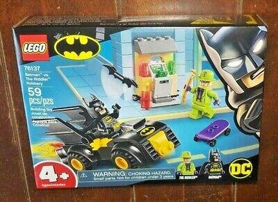Lego DC Batman - 59pc BATMAN VS. THE RIDDLER ROBBERY Building Toy-#76137