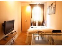 Doulbe Studio Bayswater Short lets £285 per week all bills