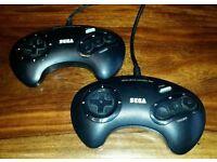 Sega Megadrive Controllers