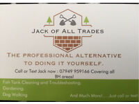 Jack of All Trades Gardening, Maintainance and much more for Very competitive Prices!