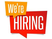 Promo staff required - regular work - immediate start