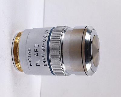 Leica Pl Apo 63x 1.32 Oil Infinity Dm Microscope Objective