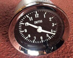 NEW SMITHS TIME CLOCK  52mm DIA CLASSIC CAR CLOCK
