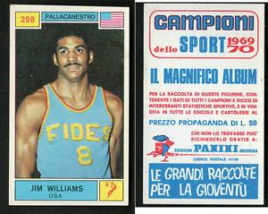 Jim-Williams-USA-Panini-Basket-CARD-1969-Brand-New-n-298