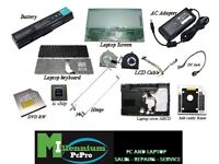 Various laptop and PC parts