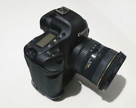 Canon 1D MKiii with Sigma 10 - 20mm lens