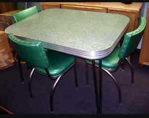 Wanted: Chrome table and chairs.  St. John's Newfoundland image 1