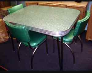 Wanted: Chrome table and chairs  St. John's Newfoundland image 1