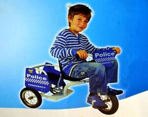 WowMart Kid Ride-on Toy Trike Tricycle - Police Car (2-seater) South Granville Parramatta Area Preview